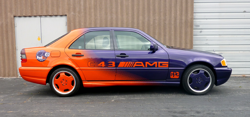 1998 mercedes benz c43 cart ppg pace car for Brumos mercedes benz